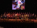 "Lord Richard ""Jurassic Park"" Attenborough - with his opening speach at the Graduation event."