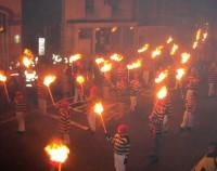Highlight for Album: Lewes Bonfire Night - 5 November 2003