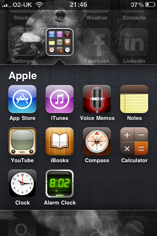 iPhone 3GS with the IOS4 upgrade