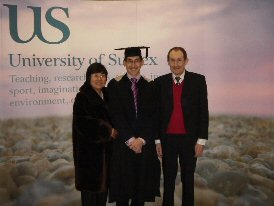 University of Sussex Graduation Ceremony - 24th Feb 2006 (Click for More Ceremony Pictures)