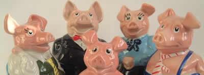 Wade Natwest Procelain Piggy-Bank Promotion