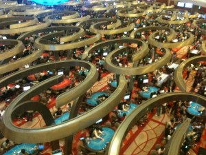 Marina Bay Sands - Gambling Floor