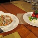 Calamari and Mozza Caprese
