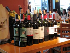 The Wine Selection!