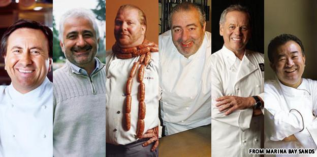Marina Bay Sands - The Celebrity Chefs
