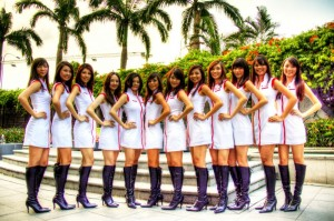Singapore F1GP 2011 - The Pit Girls