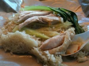 The Famous Singaporian Chicken Rice - Yum!