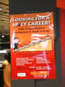 Ohhh...a job opportunity!! Haha!