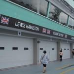 Hamilton's and Button's Garage