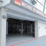 Schumacher's Mercedes Garage