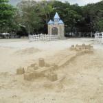 Nice sandcastle (not my creation though! Ha!)