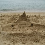 Seems to be a sandcastle competition :)