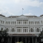 Raffles Hotel in all its glory...if only this was my home for 6 months - lol...