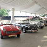 Another set of vintage cars....gorgeous motors!