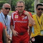 Stefano Domenicali - the Scuderia Ferrari Team Principle.