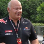 Red Bull Racing's Chief Designer, Rob Marshall.