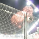 The Asian's know how to celebrate a victory - a great firework display as soon as Vettal crossed the winning line :)