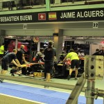 Toro Rosso Garage...