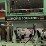 Michael Schumacher's Garage...