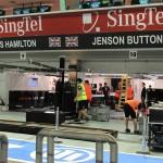 The McLaren Garage...