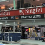 The Red Bull Racing Garage...