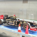 Lotus Renault's car...