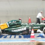 Team Lotus' car...