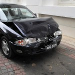 The car in front was probabaly a Proton too! Whoopsie daisy!