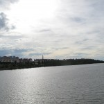 Looking Towards the Pulau Melaka Island