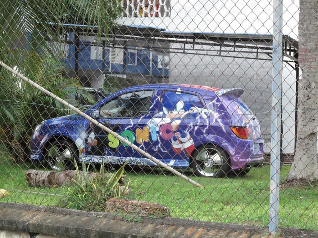 The Sonic The Hedgehog Car  Brigatti Online  My Singapore Adventure