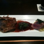 Duck Breast with Cherry Jus