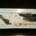 Ergh the remnants of my dish :)