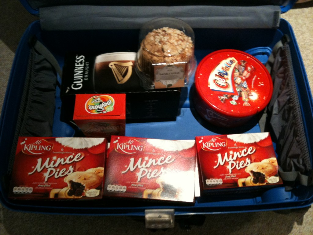 My Festive Treat-Filled Suitcase