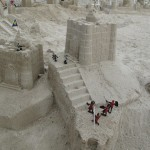 Sand Castle with Minature Battles :)