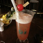 Singapore Sling @ Raffles :) Had to be done (again!)