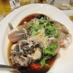 Yummy steamed fish - delicious!