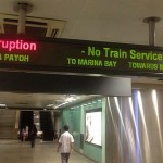 SMRT Saturday Morning Disruption - North-South Line (Sat 17th Dec)