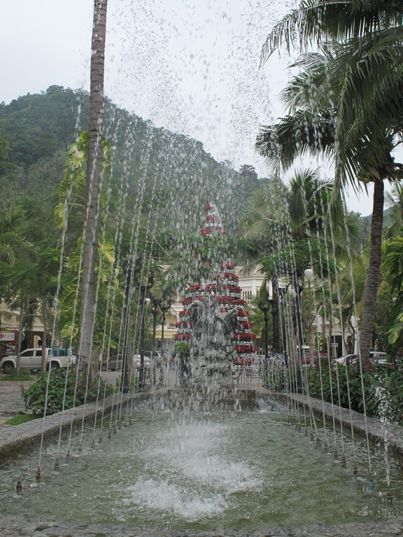 The Christmas Tree Fountain