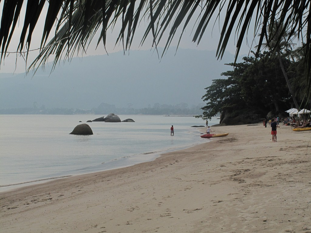Looking Down Lamai Beach