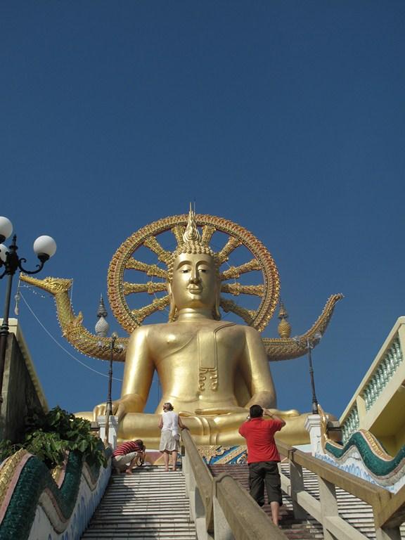 The Big Buddha - Looks Nice on a Sunny Day!