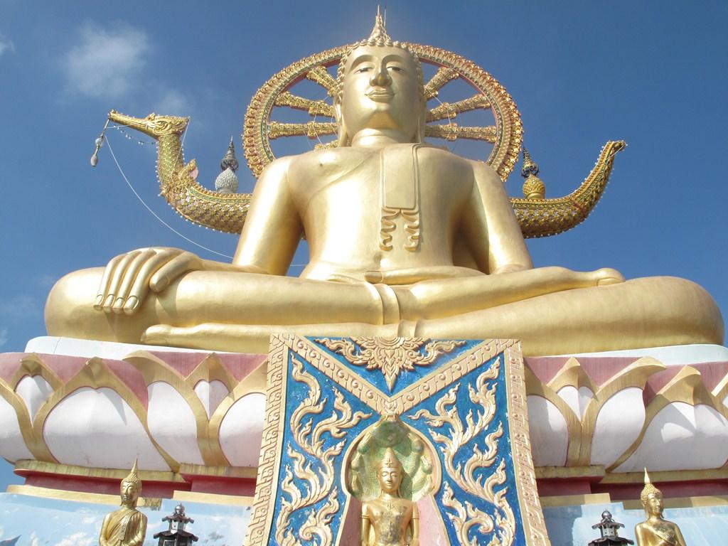 The Big Buddha - 15 Metres Tall
