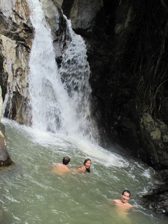 Enjoying the Namuang Waterfall 2