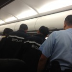 HK Police Met Our Arrival