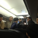 The Unruly Passenger is Taken Off the Plane