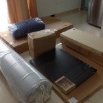 Flat pack delight - the Ikea delivery