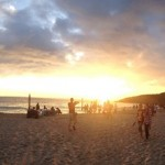 Sunset Beach Panoromic