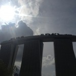 Looking back at Marina Bay Sands
