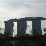 Marina Bay Sands Backdrop