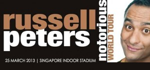 Russell Peters' Notorious Tour 2013