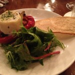Goats Cheese and Pepper Salad
